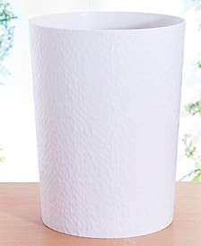 Hammered Textured Trash Can