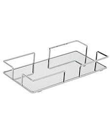 Modern Rectangular Design Mirror Vanity Tray