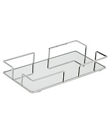 Home Details Modern Rectangular Design Mirror Vanity Tray