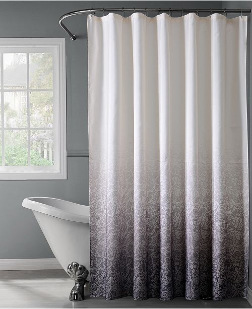 Bath Bliss Lace Ombre Shower Curtain Home Macy S