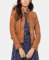 d28deedb32b87 Women Leather Jackets  Shop Women Leather Jackets - Macy s
