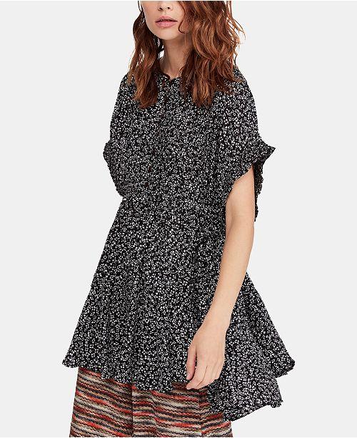 dfabf8cdd94f Free People One Fine Day Floral-Print Mini Dress & Reviews ...