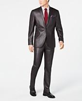 7ba00b1f27d Kenneth Cole Unlisted Men s Slim-Fit Plaid Suit
