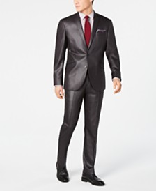 Kenneth Cole Unlisted Men's Slim-Fit Plaid Suit