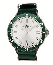 Men's Dillon Green Nato Watch 42mm
