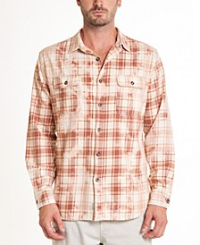 Montana Crystal Wash Tie Dye  Flannel Shirt