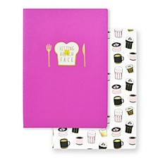 """Resting Brunch Face"" Notebook Set"