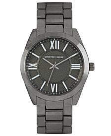 Geoffrey Beene Embossed Dial Bracelet Watch