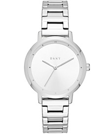 DKNY Women's Modernist Stainless Steel Bracelet Watch 32mm, Created for Macy's