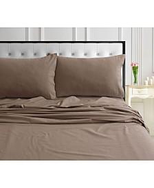 170-GSM Ultra-Soft Cotton Flannel Standard Pillow Pair