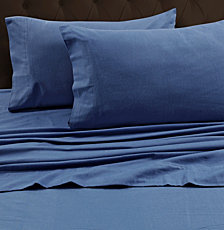 Tribeca Living Luxury 170-GSM Solid Flannel King Pillowcases