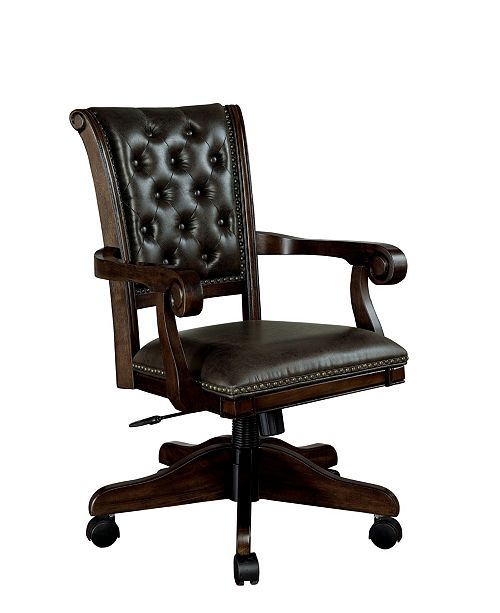 Furniture of America Izi Contemporary Game Arm Chair