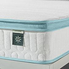 """Zinus Mint Green 8"""" Hybrid Spring Mattress- Firm mattress in a box, Full"""