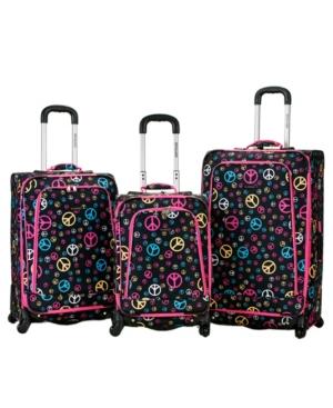 Rockland 3-Pc. Softside Luggage Set