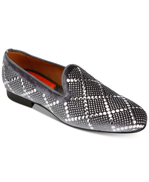 Tallia Men's Claudio Diamond Loafers