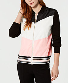 Tommy Hilfiger Chevron Zip-Up Jacket, Created for Macy's
