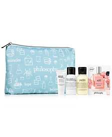 Receive a FREE 5-pc gift with any $60 philosophy fragrance purchase