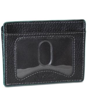 Buxton Men's Leather Front-Pocket Wallet