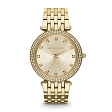 Michael Kors Women's Darci Rose Gold-Tone Stainless Steel Bracelet Watch 39mm