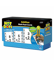 Educational Insights Hot Dots Math Flash Cards- Addition