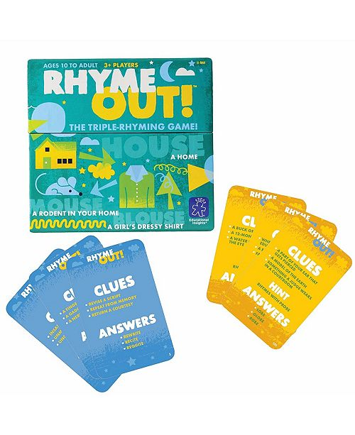 Learning Resources Educational Insights Rhyme Out