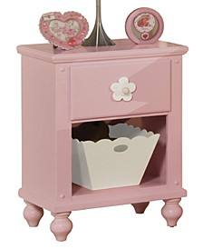 Floresville Nightstand with Basket