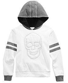 Epic Threads Big Boys Skull Graphic Hoodie, Created for Macy's