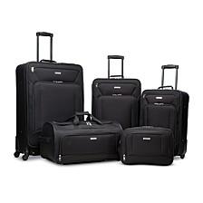 Fieldbrook XLT 5PC Luggage Set