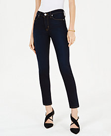 Hudson Jeans Mid-Rise Ankle Skinny Jeans