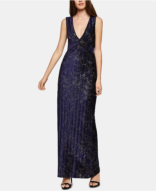f4fa5838879 BCBGeneration Velvet Glitter Maxi Dress  BCBGeneration Velvet Glitter Maxi  Dress ...