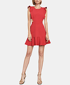 BCBGMAXAZRIA Nicole Ruffled A-Line Dress