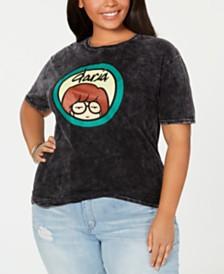 Love Tribe Trendy Plus Size Cotton Daria-Graphic T-Shirt