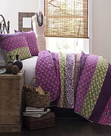 Royal Empire 3-Piece Reversible King Quilt Set