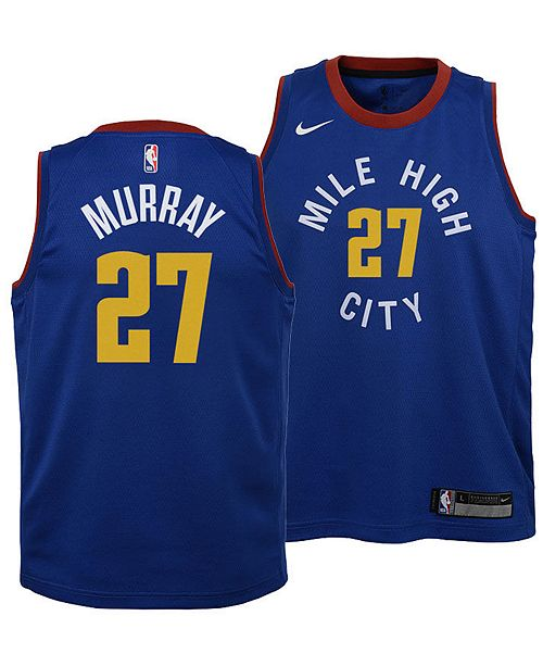 brand new cf1ba 2375f Jamal Murphy Denver Nuggets Statement Swingman Jersey, Big Boys (8-20)