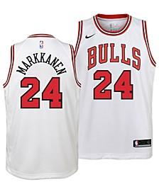 Lauri Markkanen Chicago Bulls Association Swingman Jersey, Big Boys (8-20)