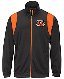 G-III Sports Men's Cincinnati Bengals Clutch Time Track Jacket