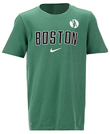 Nike Boston Celtics Facility T-Shirt, Big Boys (8-20)