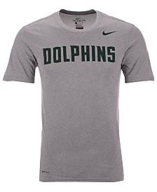 Nike Men's Jacksonville Dolphins Dri-Fit Legend Wordmark T-Shirt
