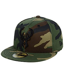 Milwaukee Bucks Fall Prism Pack 59FIFTY-FITTED Cap