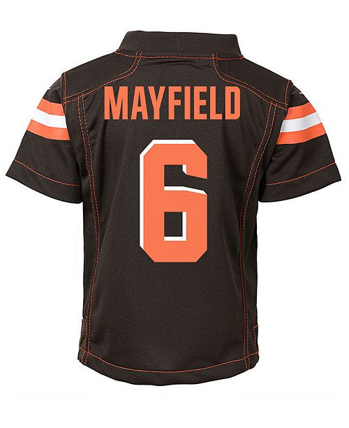 4dfd0ef7f ... Nike Baker Mayfield Cleveland Browns Game Jersey