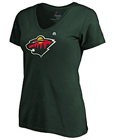 Majestic Women's Minnesota Wild Primary Logo T-Shirt