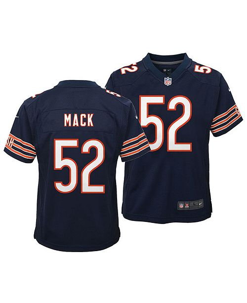 c76629059 ... Nike Khalil Mack Chicago Bears Game Jersey, Toddler Boys (2T-4T) ...
