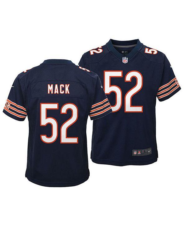 Nike Khalil Mack Chicago Bears Game Jersey, Toddler Boys (2T-4T)