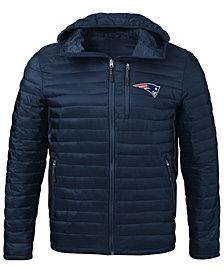 G-III Sports Men's New England Patriots Equator Player Front Zip Jacket