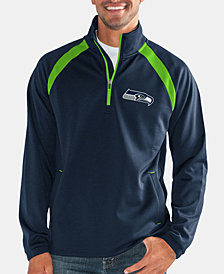 G-III Sports Men's Seattle Seahawks High Impact Player Lightweight Pullover Jacket