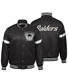 Starter Men's Oakland Raiders Legacy Varsity Jacket
