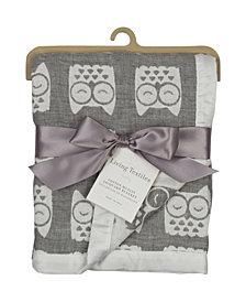 Lolli Living Cotton Muslin Jacquard Blanket