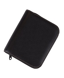 Royce Zippered Travel Jewelry Case in Genuine Leather