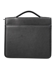 Royce Zip Around Tablet Writing Portfolio Organizer in Genuine Leather