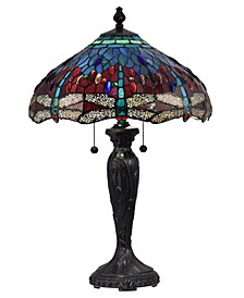 Gilder Dragonfly Tiffany Table Lamp